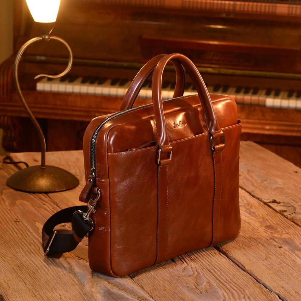 Классическая кожаная сумка
