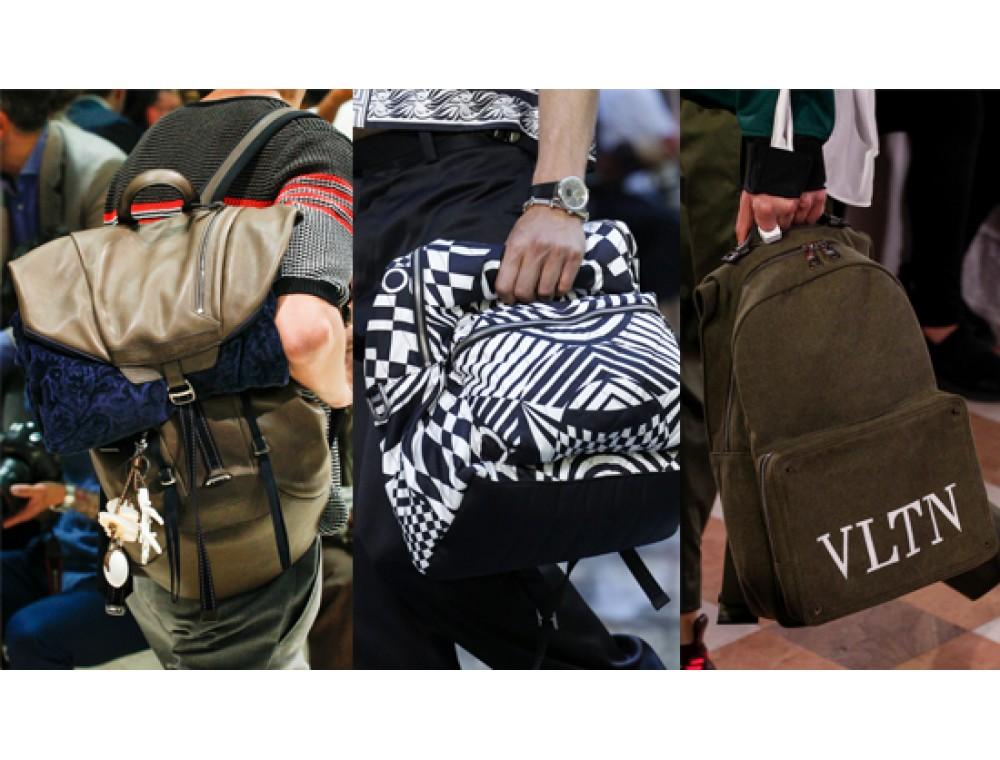 2fd9bd96c090 Модные мужские сумки: актуальные тренды лета 2018 - Issa Hara
