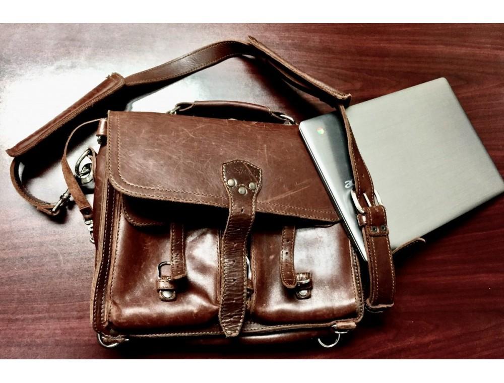Какие бывают мужские кожаные сумки через плечо