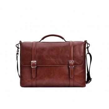 Кожаный портфель для документов