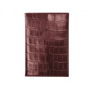 Leather cover for passport