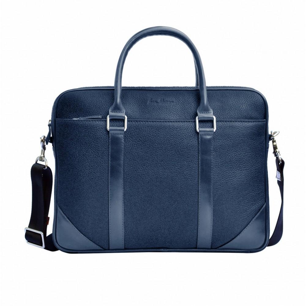 Классическая мужская кожаная сумка