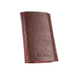 Кожаный чехол для IPhone коричневый