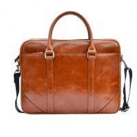 Stylish men's leather bag