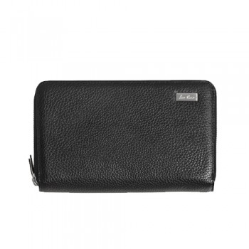 Clutch made of leather