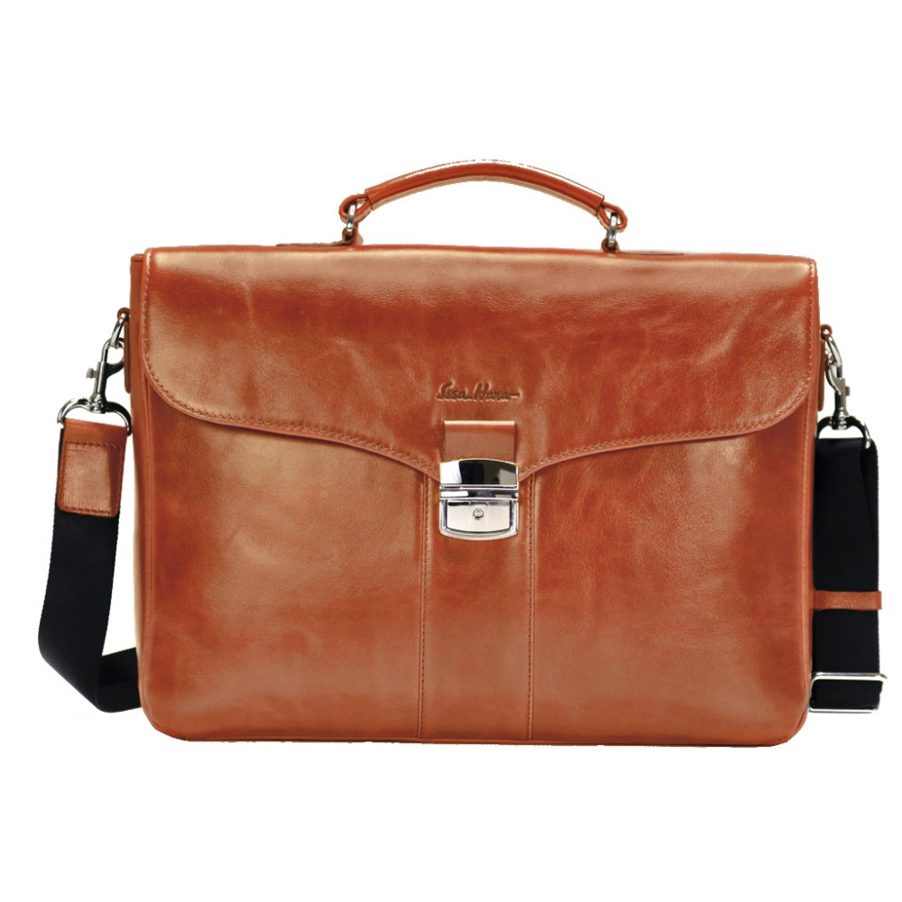 Стильный кожаный портфель