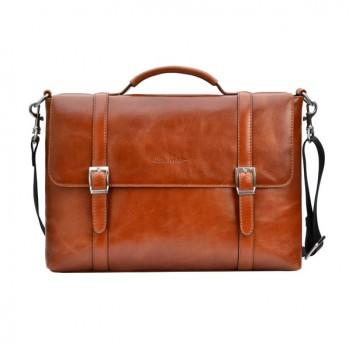 Оригінальний чоловічий шкіряний портфель