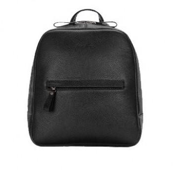 Backpack leather female black